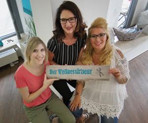 Das Team vom Wellnessfriseur 2017